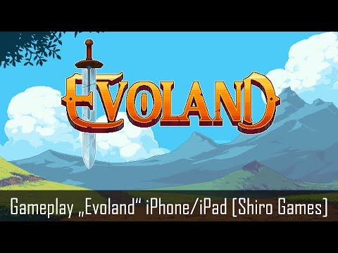 Evoland iOS Gameplay iPhone iPad (by Shiro Games)