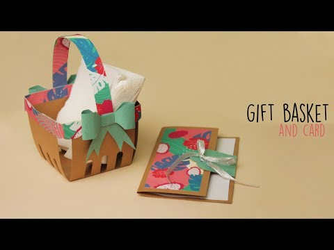 DIY Gift Basket and Card | Gift Basket Ideas | Gift Card Ideas