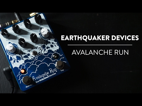 EarthQuaker Devices Avalanche Run Ambient Delay and Reverb Demo
