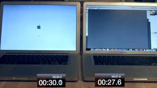 2011 MacBook Pro with SSD vs 2010 MacBook Pro with standard Hard Drive - Speed Test