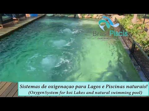 Sistema De Oxigenação Em Lagos Ornamentais E Piscinas Naturais
