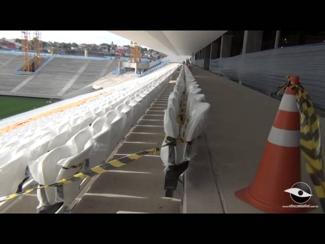 21/10/2013 - Arena Corinthians - Parte 1 Travel Video
