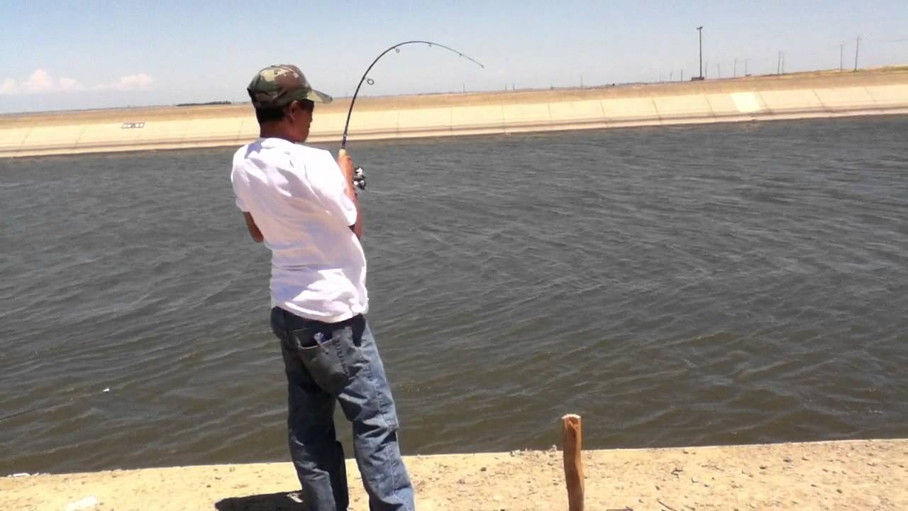 30 inch striper at california aqueduct youtube