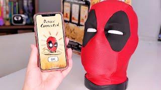 Marvel Legends Deadpool Interactive Head Unboxing and App Walkthrough