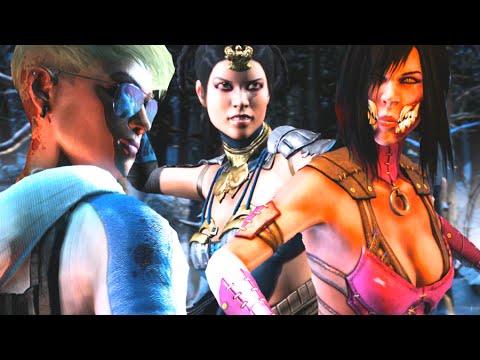 Mortal Kombat X All Female Fatalities, Brutalities & X-Ray