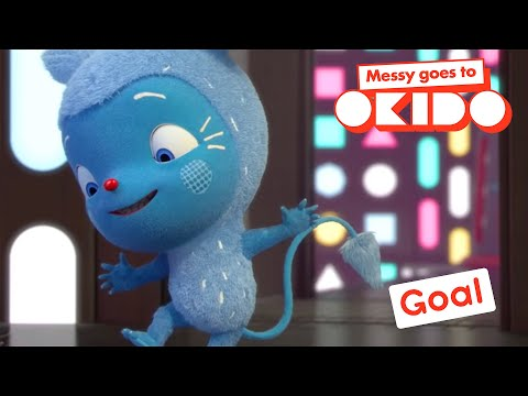 Messy Goes To Okido | GOAL! | WORLD CUP SPECIAL | Videos For Kids | Funny Cartoons