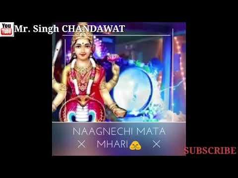नागणेची मैया की बहुत प्यारी रिंगटोन। Jai Maa Naganaray ri.Nagnechi mata bhajan status 2019