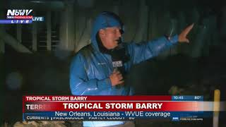 WINDS PICKING UP: Tropical Storm Barry winds pick up in Louisiana