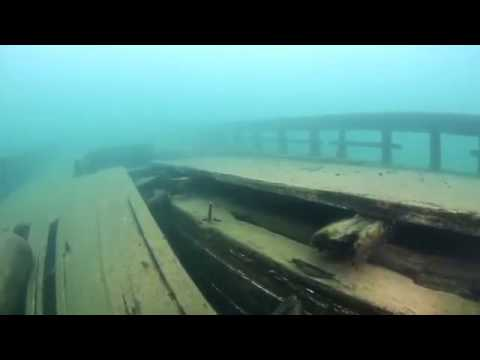 Bermuda Shipwreck, Lake Superior, near Munising, M