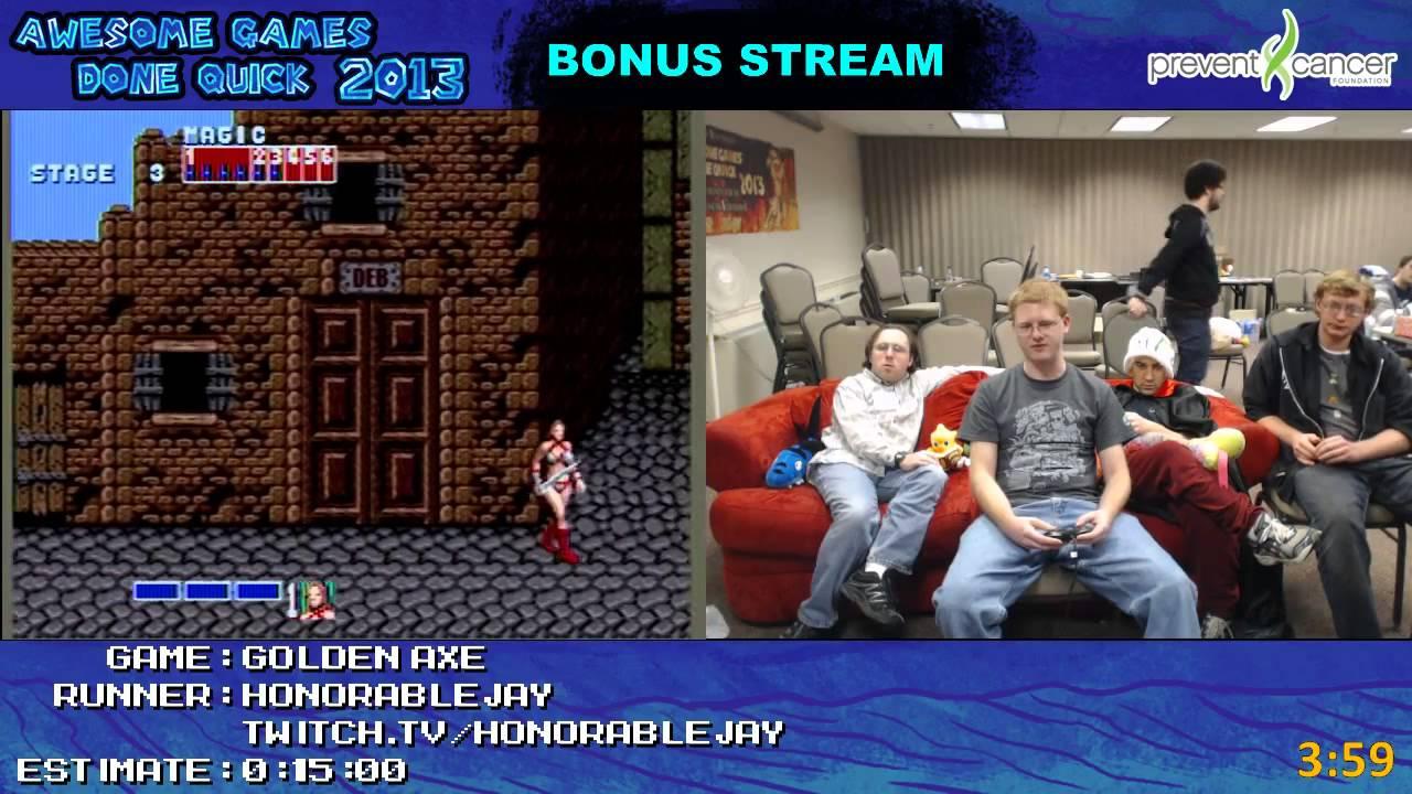 Awesome Games Done Quick 2013 Bonus Stream Part 37