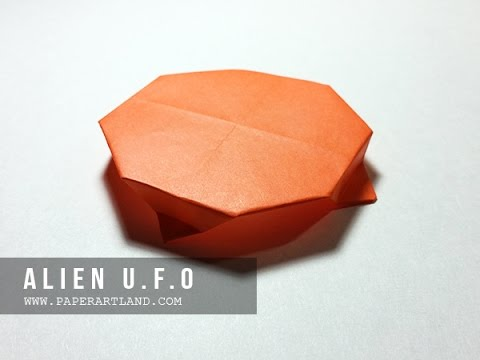 How to make a paper ufo