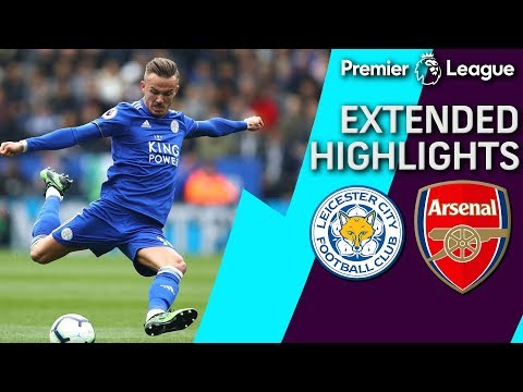 Leicester City v. Arsenal | PREMIER LEAGUE EXTENDED HIGHLIGHTS | 4/28/19 | NBC Sports