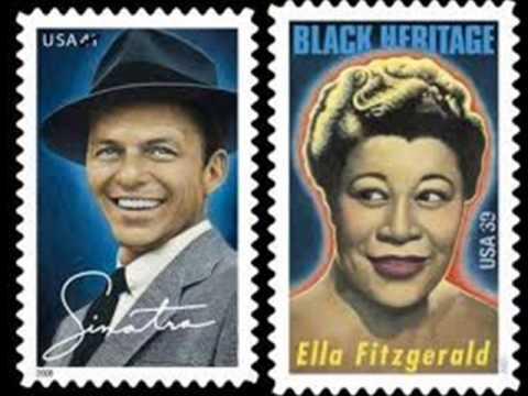 The lady is a tramp  Ella Fitzgerald & frank sinatra