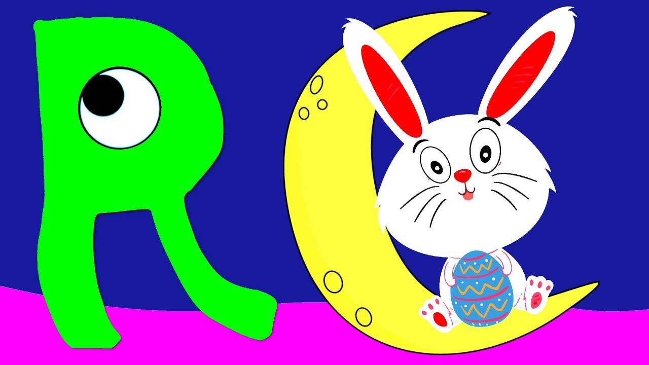 Learn the Alphabet Animals - Letter R - RABBIT