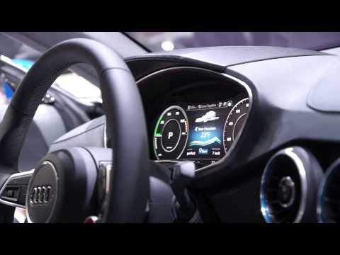 Audi TT Mk3 / allroad shootingbrake concept Instrument Cluster