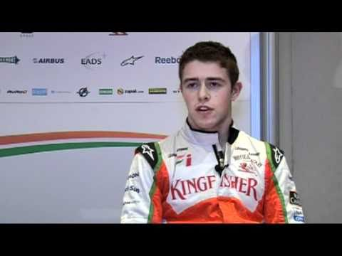 F1 Interview with Sutil, Liuzzi and Di Resta (Force India) before the 2010 Singapore GP