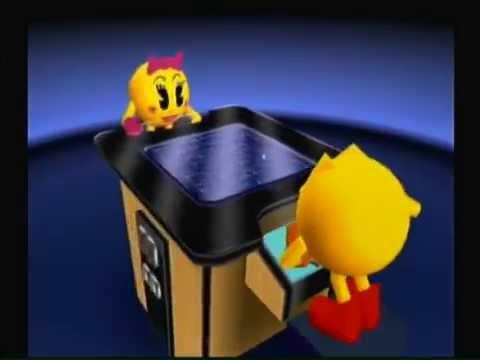 Pac-Man World Rally:  Retro Maze
