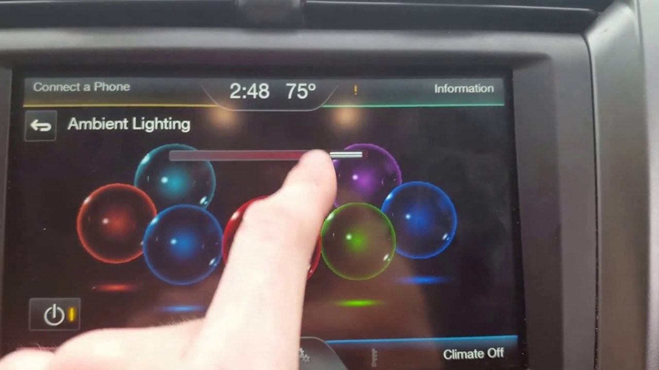 How To Change Your Ambient Lighting On Your 2011 2017 Ford