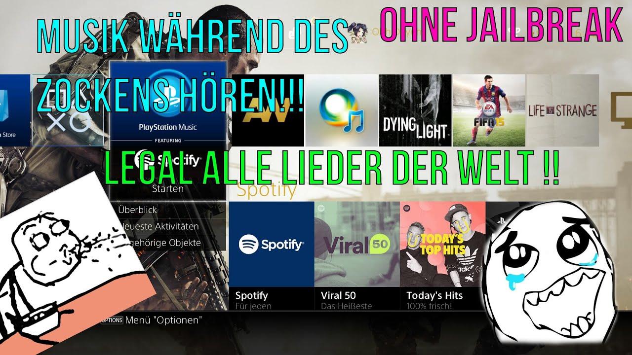 PS4 | Musik im Hintergrund abspielen lassen! | Ohne ...