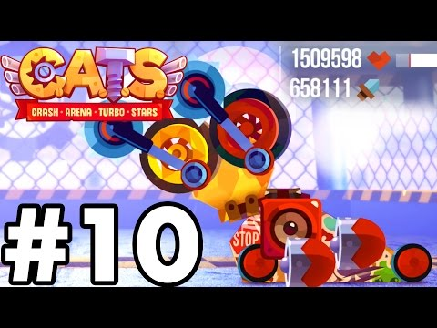CRAZIEST 'BOSS' BATTLE | C.A.T.S | Crash Arena Turbo Stars Gameplay Part 10