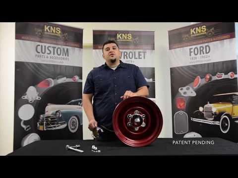 KNS Accessories KC6050 6 Lug Spider Cap