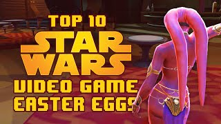 My Top 10 Easter Eggs in Star Wars Video Games(Facebook (fan page): https://goo.gl/e9P2z0 Letterboxd: http://letterboxd.com/gurukid/ Fully embracing the hype train with this one. So Force Awakens (TBD) ., 2015-12-19T19:07:19.000Z)