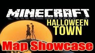 Minecraft PC Map Showcase - Halloween Town (Disney