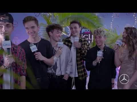Y100's Jingle Ball - WATCH: Why Don't We Joined Brooke In The Mercedes-Benz Interview Room