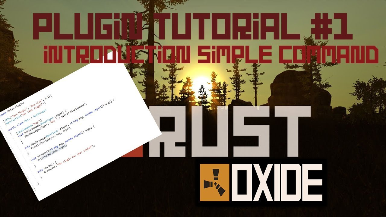 Rust Plugin Tutorial #1 | Introduction + Simple Command