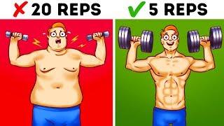 6 Fehler, die du beim Training machst