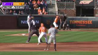 Tennessee Baseball vs Lipscomb Highlights