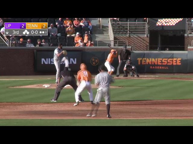 Tennessee Baseball vs Lipscomb Highlights