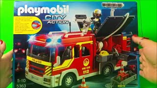 5363 Playmobil Fire Engine City Action