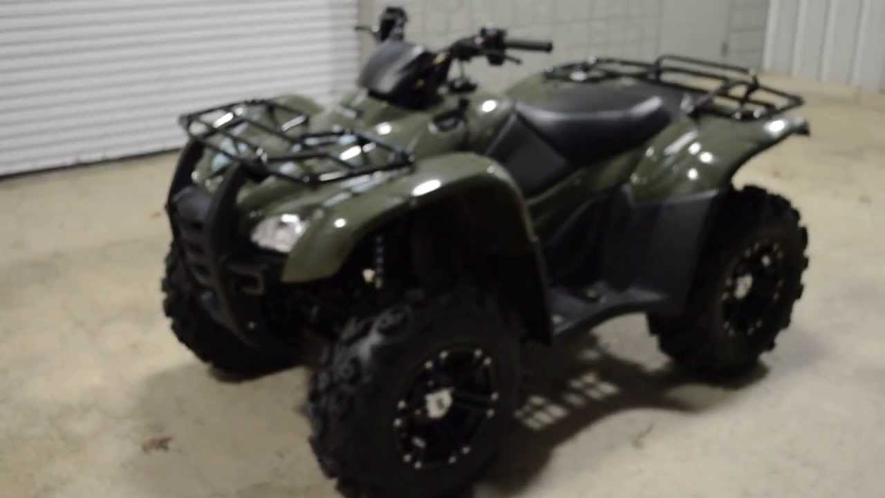 Honda Four Wheelers For Sale >> 2014 Rancher AT ITP Wheels / Tires + Power Steering 4x4 ...