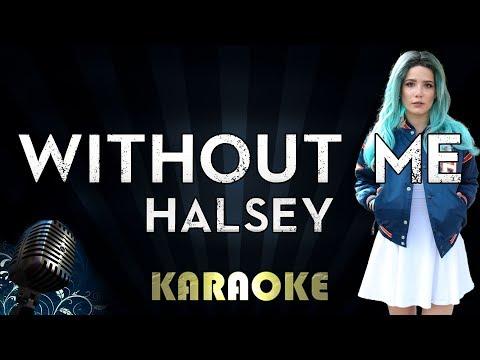 Halsey - Without Me (Karaoke Instrumental)