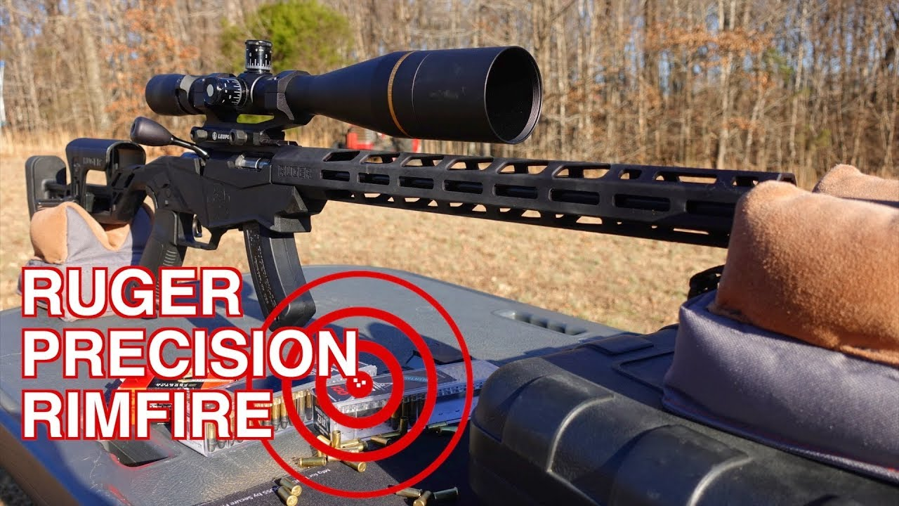 RUGER PRECISION RIMFIRE REVIEW