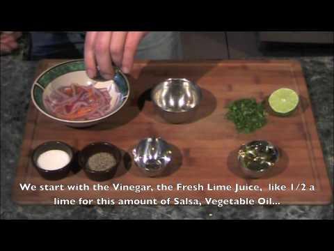 Salsa Criolla - Peruvian Creole Salsa - English Subtitles