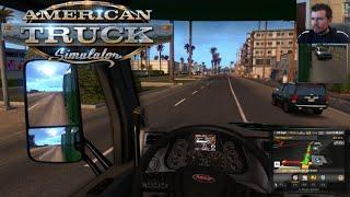AMERICAN TRUCK SIMULATOR (PC) - Gameplay y Primeras impresiones || En Español