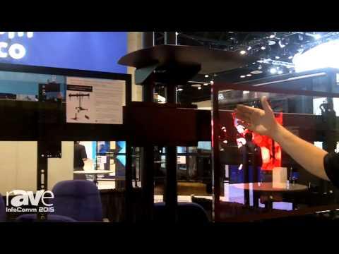 InfoComm 2015: Premier Mounts Shows Symmetry Series Floor Stand