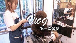 《VLOG》人生第一次染髮!護髮很重要!結尾推薦台北台中美髮好店們~ 林芝軒 軒爺