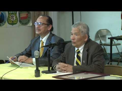 San Jose: Nguyễn Tâm công bố vụ kiện trong cuộc họp báo về nghị quyết 3.8 chống cờ đỏ