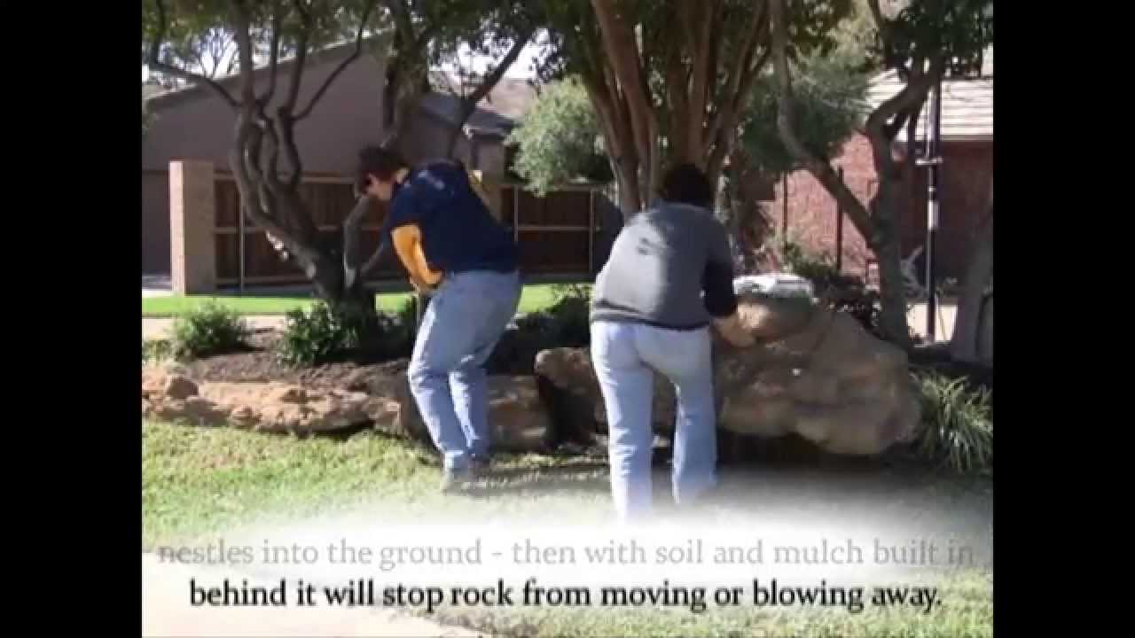 How To Install Garden Edging With Universal Rocks