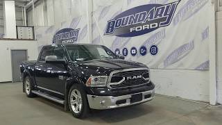 Pre-owned 2015 Ram 1500 Limited W/ 3.0L Eco Diesel, Sun Roof Overview | Boundary Ford