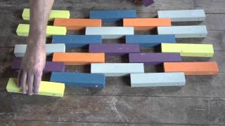 How To : Create A Door Mat For Your Home With Our Bosch Bench Drill And Jigsaw
