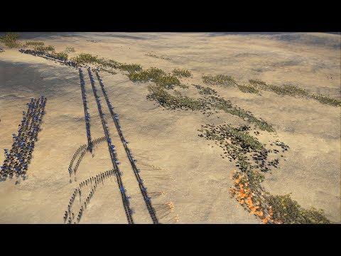 2.000 DEFENDERS OF EARTH vs 18.000 SWORDSMEN - Total War: THREE KINGDOMS |