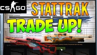 CS GO - Risky StatTrak Trade Up! Blood In the Water or Asiimov Trade Up Contract (CS GO Skins)