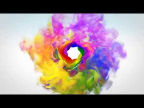 Colorful Smoke Logo Reveal After Effects Template