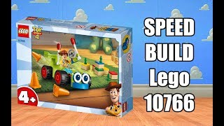 LEGO Toy Story 4 - 10766 Woody & RC Speed Build