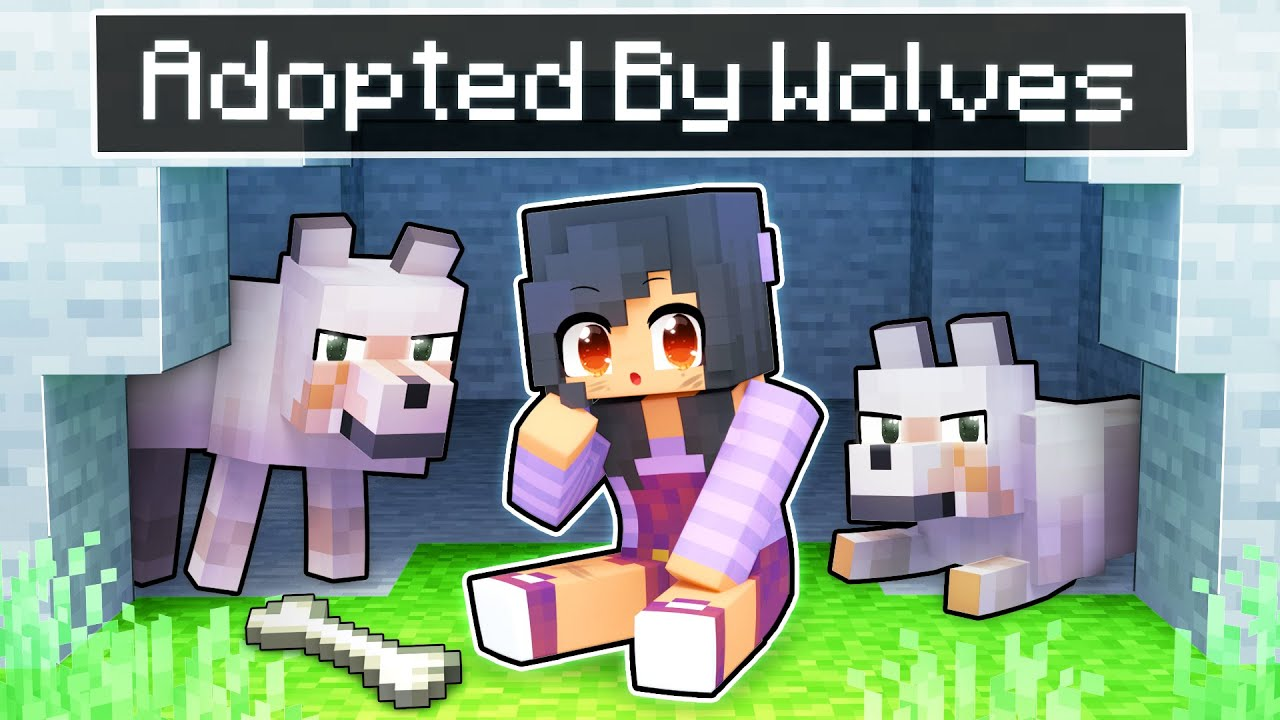 Download Adopted By WOLVES In Minecraft!