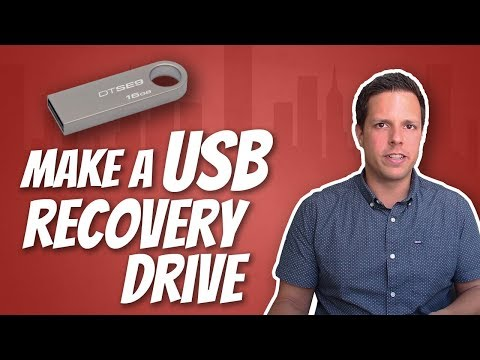 How To Make A Windows 10 USB Recovery Drive